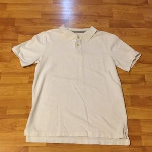 Polo shirt. Boy's white xl